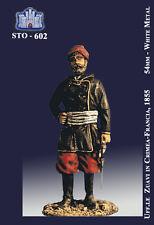 LA FORTEZZA SCALE MODEL STO-0602 - UFF. ZUAVI IN CRIME-FRANCIA 1855 - 54mm METAL