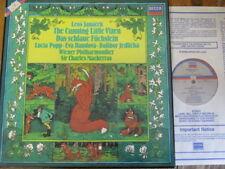 D257D 2 Janacek The Cunning Little Vixen / Popp / Mackerras / VPO 2 LP box