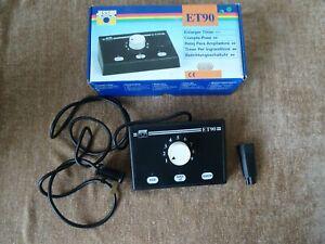 Jessop ET 90 electronic darkroom timer - fully tested inline with enlarger.
