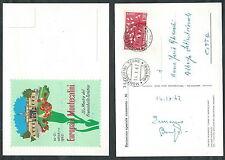 1962 ITALIA CARTOLINA SPECIALE EUROPA A MONTECATINI - ED