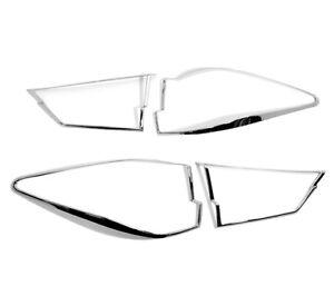 Chrome Tailights Trim Bezel Surrond Rim Cover For Lexus RX350 4th Generation