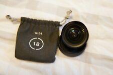 Moment Wide Lens v2 18mm
