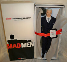 Mad Men Roger Sterling Ken Barbie Silkstone Club Exclusive club doll NRFB 2010