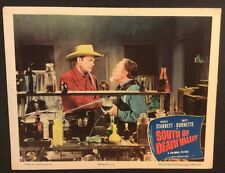 SOUTH OF DEATH VALLEY Vintage LOBBY CARD Original 1949 Charles Starrett Western