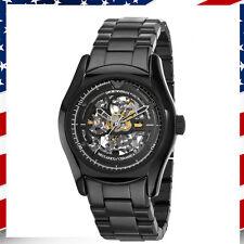 Emporio Armani Men's AR1414 Ceramic Black Mecanico Automatic Skeleton Dial Watch