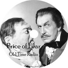 The Price of Fear Old Time Radio Show OTR 24 Episodes on 1 MP3 CD Free Shipping