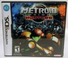 Metroid Prime Hunters DS Custom Replacement CASE - Black Case - (*NO GAME*)