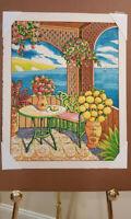 Caribbean Art Lithograph Lloyd Van Pitterson Signed Tropical Impressionism