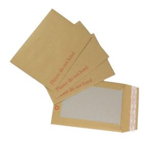 Board Backed Envelope Hard Cardboard Do Not Bend Envelope Brown Pack of 250