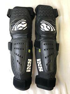 IXS Cleaver Knee/Shin Guard Black Size Large