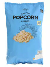 Salted Popcorn 6x15g Pack Marks & Spencer