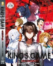 DVD ANIME The Animation KING'S GAME Vol.1-12 End ENG SUBS Region All + FREE DVD
