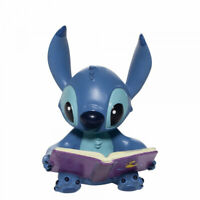 New 2020 Disney Showcase Stitch With Book Figurine 6006207 - New & Boxed