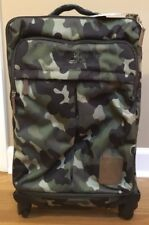 "NEW Pottery Barn Teen Northfield GREEN CAMO Carry-On Spinner Luggage ""tucker"""