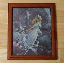 "1998 Dufex Prints Don Maitz ""Silver Lining"" Framed Print"
