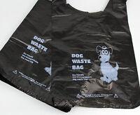 200 x Biodegradable Dog Poo Bags (Dog Poop Bag/Waste Bags) - Black Tie Handle