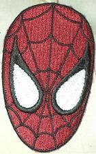 à repasser/à COUDRE PATCH BRODÉ Badge Spiderman Spider Man MASQUE VISAGE