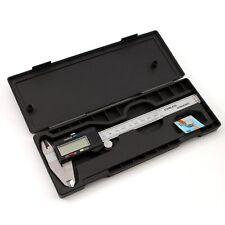 6-Inch/150mm Digital Electronic Gauge Stainless Steel Vernier Caliper Micrometer