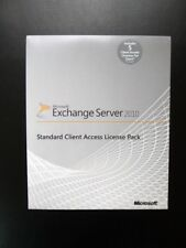 Microsoft Exchange Server 2010 5 CAL Standard Client Access License Pack NEW