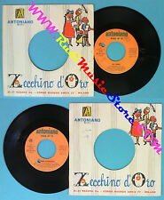 LP 45 7'' ZECCHINO D'ORO Ali baba'Mini astronave 1972 ANTONIANO no cd mc vhs