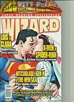 Superman Wizard Super Wedding Spectacular 1995 still in Bag has extra's