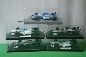 """ONYX F1 COLLECTION 90s FORMULA 1 RACING CARS """"5 MODELS"""" 1/43 SCALE !!!!"""