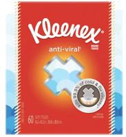Kleenex Anti-Viral Facial Tissues 60 tissues per Box - Buy More Save More