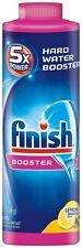 Finish Hard Water Booster Powder, Lemon Sparkle, 14oz