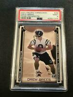 DREW BREES 2001 PACIFIC VANGUARD #28 PRIME PROSPECTS ROOKIE RC MINT PSA 9 SAINTS