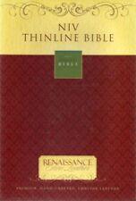 Zondervan Renaissance Fine Leather NIV Thinline Bible,Excellent Unused Condition