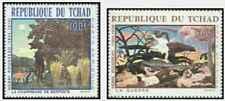Timbres Arts Tableaux Rousseau Tchad PA47/8 ** lot 27459