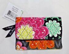 VERA BRADLEY Tri Fold Euro Wallet - ZIGGY ZINNIA - Brand new with Tag
