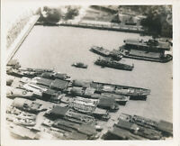 1940s USAAF cameraman's  Shanghai, China docks Photo #30