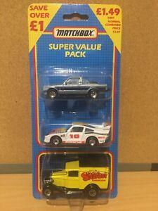 Matchbox MB-858 Super Value Triple Pack  Mint Boxed