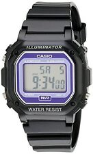 Casio Kids F-108WHC-1BCF Classic Digital Watch With Black Resin Band