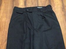 Mens Tilley Endurables Black Dress Style Pants Pleated Sz 32
