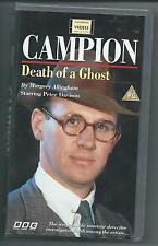 CAMPION Death of a Ghost VHS 1991 BBC Peter Davison MARGERY ALLINGHAM
