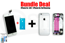 BUNDEL DEAL- iPhone 6s LCD Screen (white) And full Housing (silver)
