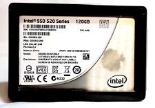 """SSD 2.5"""" Intel SSD 520 Series 120GB SSDSC2CW120A3 SATA 6Gbs Laptop Drive MLC"""