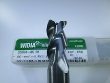 WIDIA RUBIG SOLID CARBIDE 16MM ( .6299 ) END MILL 3 FLUTE MILLING LATHE TOOL BIT
