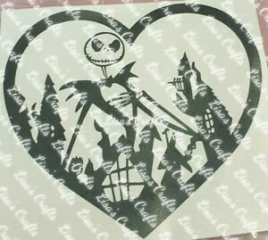 Laptop Sticke 50pcs The Nightmare Before Christmas Stickers Halloween Stickers