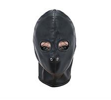 Halloween  Gimp Hood Sensory Deprivation   Faux Leather mask fancy dress
