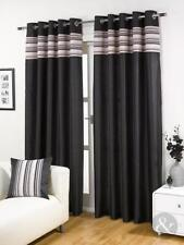 Just Contempo Striped Ready Made Curtains & Pelmets