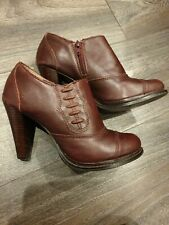 NEXT WINE RED ANKLE BOOTS SIZE 5