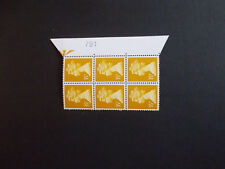 Specialised Machin 35p Harrison Acid Etched Warrant Block of 6 Right No. 719 U/M