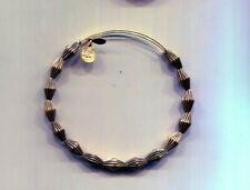 Ribbed Gold Bead bracelet Alex & Ani Retired