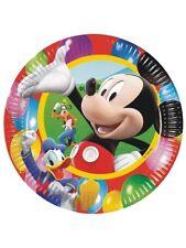 Piatti Carta Topolino 23 cm , Arredo Festa Party Disney Mickey  *20262