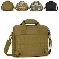Men Nylon Messenger Shoulder Bag Military Tactical Outdoor Camping Briefcase !