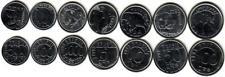 BRASIL 7 coins (animals)