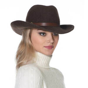 Authentic NWT Eric Javits NYC Designer Women's Hat - Hee-Haw in Brown Mix